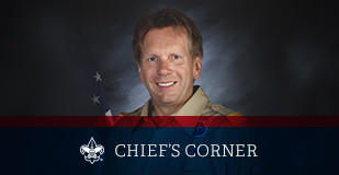 Chief Scout Executive Michael B. Surbaugh